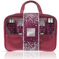 Baylis Harding Midnight Fig Pomegranate Bath Body Travel Bag Set