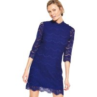 V By Very High Neck Lace Dress
