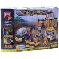 Block Tech Construction Site Crew Play Set