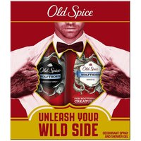 Old Spice Mens WolfThorn Gift Set