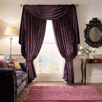 Laurence Llewelyn-Bowen Velvet-Effect Curtains