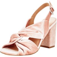 V by Very Ariana Twist Front Block Heel Sandals