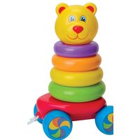 Fun Time Pull Along Stacking Teddy