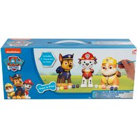 Paw Patrol Set of 3 Paint Your Own Figurines - Blue