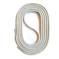 SNORS shoefriends Schnürsenkel rund 60-150cm, 3mm aus Polyester Schnürsenkel hellgrau Gr. 60