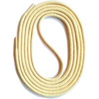 SNORS shoefriends Schnürsenkel rund 60-150cm, 3mm aus Polyester Schnürsenkel creme Gr. 75