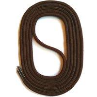 SNORS shoefriends Schnürsenkel rund 60-150cm, 3mm aus Polyester Schnürsenkel dunkelbraun Gr. 60