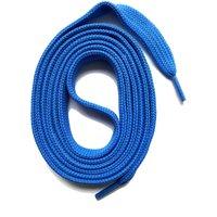 SNORS shoefriends Schnürsenkel flach 60-240cm, 7mm aus Polyester Schnürsenkel blau Gr. 130