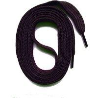 SNORS shoefriends Schnürsenkel flach 60-240cm, 7mm aus Polyester Schnürsenkel dunkelblau Gr. 130