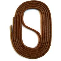 SNORS shoefriends Schnürsenkel rund natur 75-130cm, 3mm aus Baumwolle Schnürsenkel braun Gr. 90