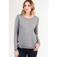 DREIMASTER Damen Sweater schwarz/grau Damen Gr. 38