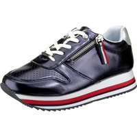 Unlimited Wedge-Sneakers blau-kombi Damen Gr. 36