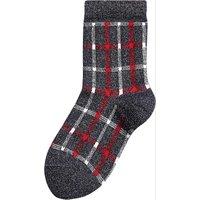 next Socken mit Glitzer für Mädchen dunkelblau Mädchen Gr. 23-26