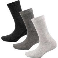 MUSTANG Women Basic Socks 3p grau Damen Gr. 39-42