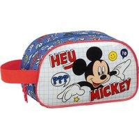 safta Kulturbeutel Mickey Mouse Hey, Mickey! blau/rot