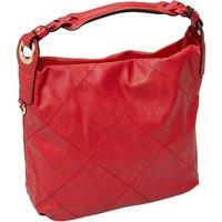 Emma & Kelly Henkeltasche mit Absteppung Handtaschen rot Damen