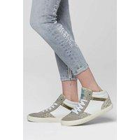 SOCCX Sneaker im Material- und Farbmix Sneakers High weiß Damen Gr. 36