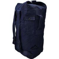 normani® Canvas-Seesack 90 l Submariner 90 Freizeitrucksäcke dunkelblau