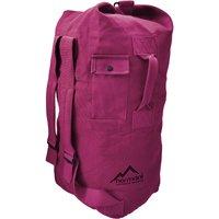 normani® Canvas-Seesack 90 l Submariner 90 Freizeitrucksäcke pink