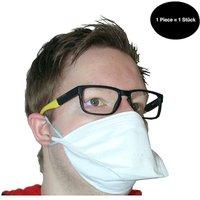 Million X Women Mund und Nasenmaske 1 Stück Mund-Nasen-Masken weiß Gr. one size