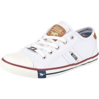 MUSTANG Sneakers Low weiß Damen Gr. 40