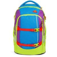 satch pack Schulrucksack Flash Jumper blau