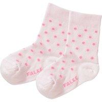 FALKE Baby Socken gepunktet rosa Mädchen Gr. 62/68