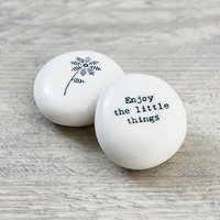 Porcelain Pebble