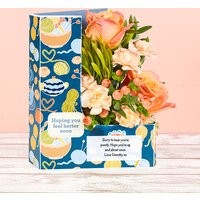 Peach Delight - Flowercard Gifts