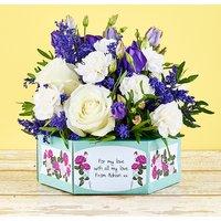 Purple Polka - Flowercard Gifts