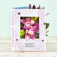Birthday Bounty - Flowercard Gifts