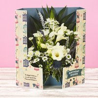 Birthday Blooms - Flowercard Gifts