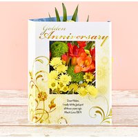 Golden Years - Flowercard Gifts
