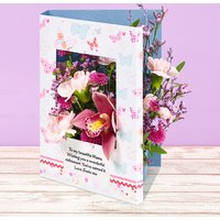 Fluttering Orchid - Flowercard Gifts