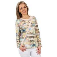 MILANO Design Shirt 'Romina' multicolor