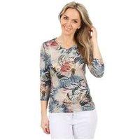 MILANO Design Shirt 'Tiziana' multicolor