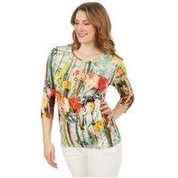 MILANO Design Shirt 'Valeria' multicolor
