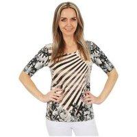 MILANO Design Shirt 'Sofia' multicolor