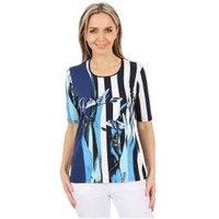 MILANO Design Shirt 'Felia' multicolor