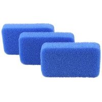Silikon-Reinigungsschwämme 3-teilig, blau