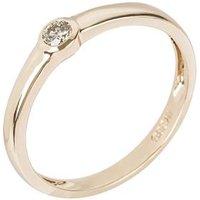 Ring 585 Gelbgold Brillant mit ca. 0,20 ct