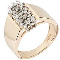 Ring 585 Gelbgold Brillanten mit ca. 0,50 ct
