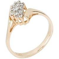 Ring 585 Gelbgold Brillanten mit ca. 0,25 ct