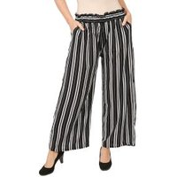 Weite Damen-Hose 'Colorful Stripes' multicolor