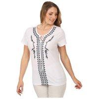 Sommerliches Damen-Shirt 'Vedranell' weiß