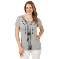 Sommerliches Damen-Shirt 'Vedranell' grau