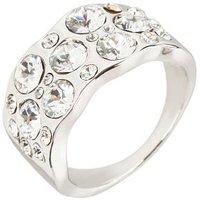Ring mit Swarovski Elements weiß