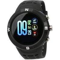 QWatch Smartwatch A1 schwarz mit GPS und Kompass