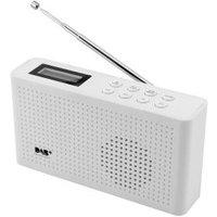 DAB+/UKW-PLL-Radio mit Festsenderspeicher weiß