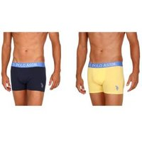 2er Pack US. POLO ASSN. Boxershorts gelb/marine
